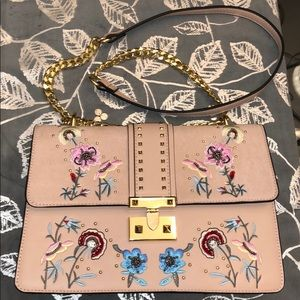 TOPSHOP embroidered crossbody purse